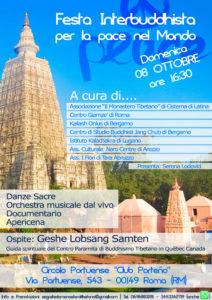 Festa Interbuddhista a Roma – 08/10/2017