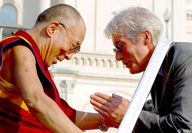 Richard Gere e il suo impegno per il Tibet