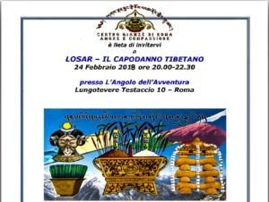 Capodanno Tibetano: Losar ལོ་གསར 2145