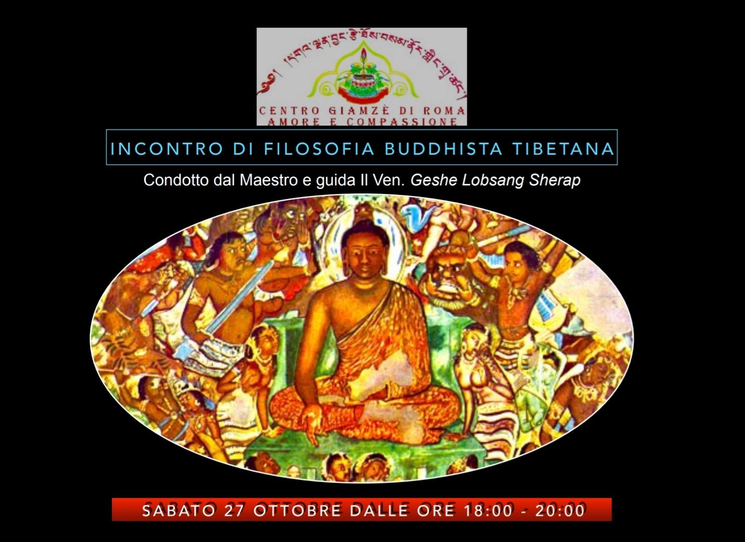 Come Uscire Da Una Mente Confusa Secondo La Filosofia Bubbhista Tibetana condotto dal Maestro e Guida Il Ven. Geshe Lobsang Sherap