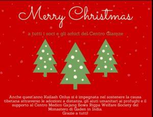 Auguri di Buon Natale e Capodanno 2019!!! a Tutti I Soci e Gli Amici del Centro Giamze' Di Roma