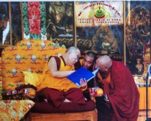 Festa di Compleanno, di Sua Santità Il XIV Dalai Lama e Presentazione del Nostro Maestro Residente del Centro Giamzè di Roma, Il Ven Geshe Lharampa Gedun Shakya