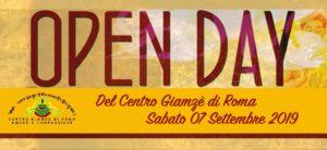 OPEN DAY del Centro Giamzè di Roma