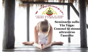 Seminario sullo Yin Yoga: l'Importanza dell'Ascolto e del  Silenzio condotto della Maestra Birgit Kunzli