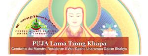 Puja di Lama Tzong Khapa