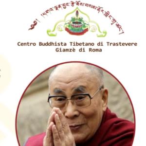 Secondo Giro della Ruota Del Dharma a Trastevere, con i Nostri Maestri Geshe Lharampa diretti dal Gaden Jangtse Drazang Monastery