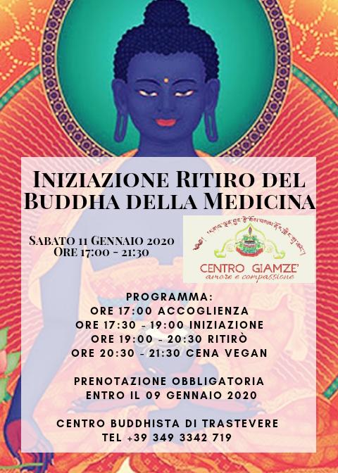 Iniziazione e Ritiro Buddha della Medicina