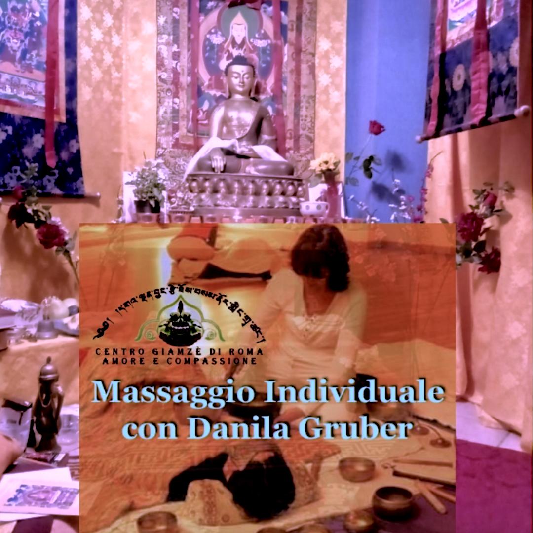 Aiutiamo Il Centro Giamzè regalandoci o Regalando un Massaggio Sonoro Individuale