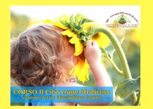 Corso: Il Cibo come Medicina condotto dal Dr. Massimiliano Carletti