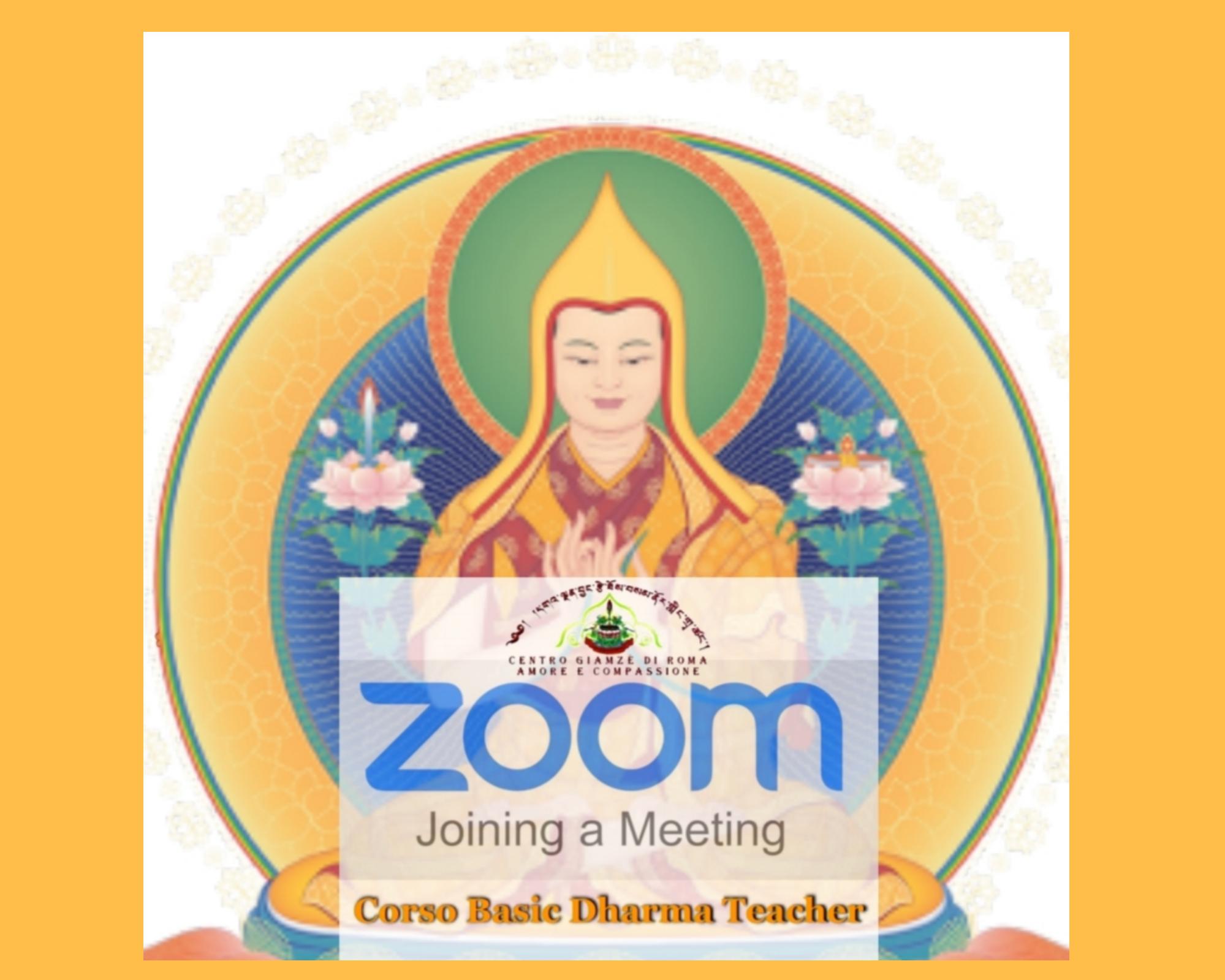 Besic Dharma Teacher in Colleghamento Zoom