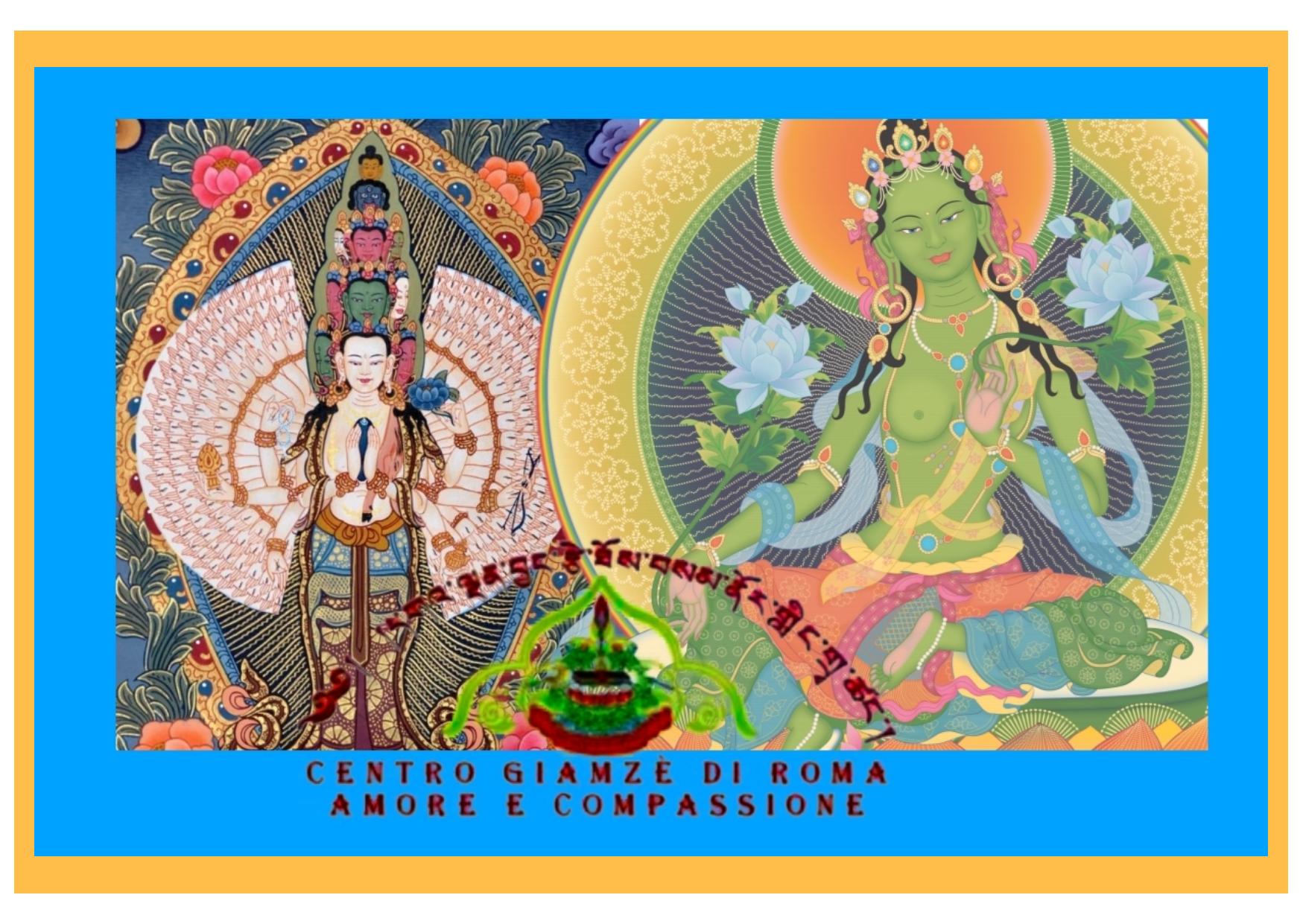 Incontro virtuale su piattaforma Zoom Studio di Filosofia Buddhista condotto dei Basic Dharma Teacher del Centro Buddhista di Trastevere Giamzé di Roma